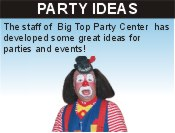 Click here for Information on Party Ideas